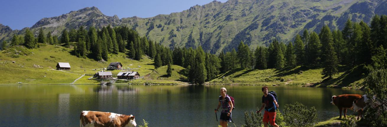 idyllischer Dusitzkarsee im Obertal
