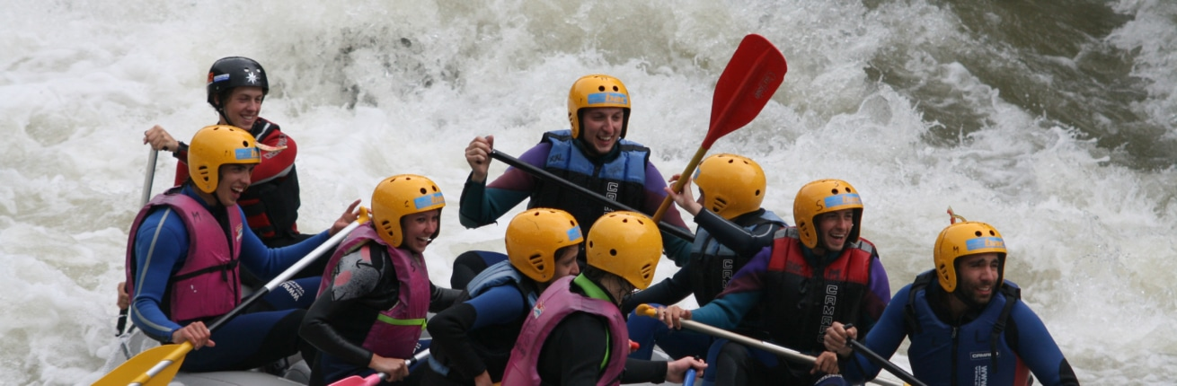 Raffting Tour auf der Enns in der Urlaubsregion Schladming Dachstein