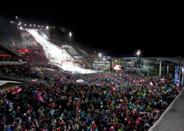 The nightrace Schladming auf der Planai