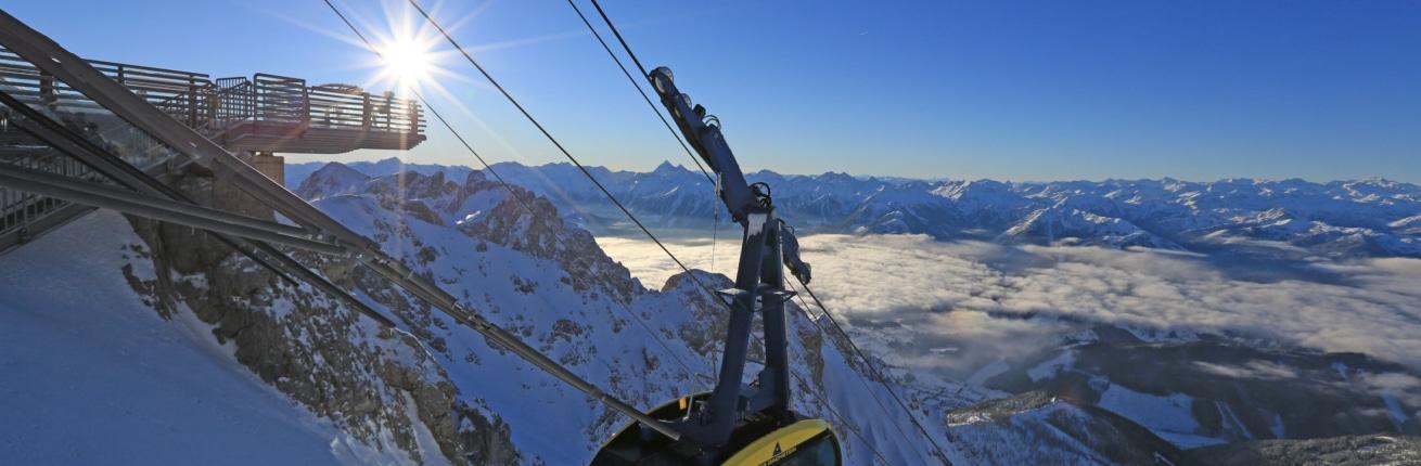 Der Dachstein-Ausflugsziel & Gletscher Gebiet in Schladming-Dachstein