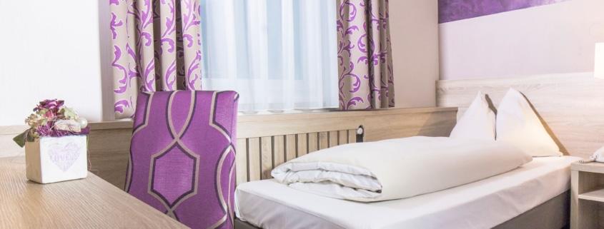 Einzelzimmer im Hotel Neue Post in Schladming