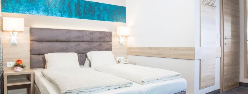 neu eingerichtete Zimmer im Hotel Neue Post in Schladming