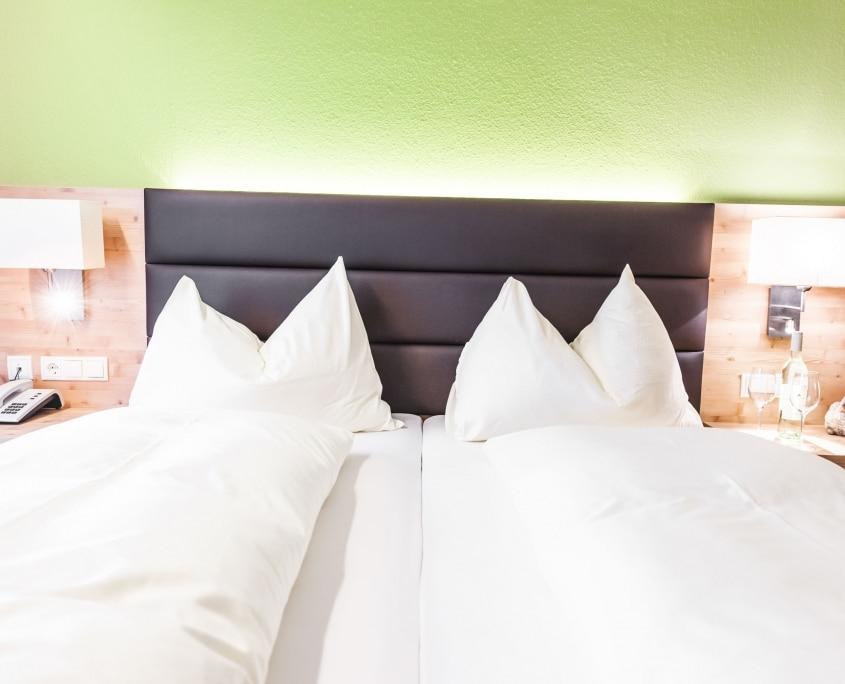 Dreibettzimmer im Hotel Rössl