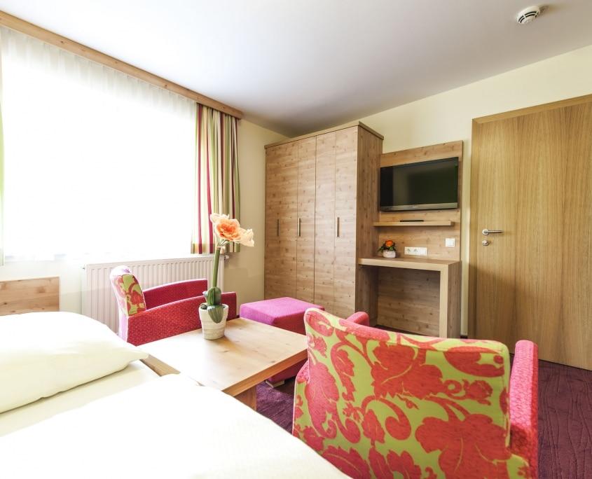 modernes Doppelzimmer-Hotel Schladmingerhof