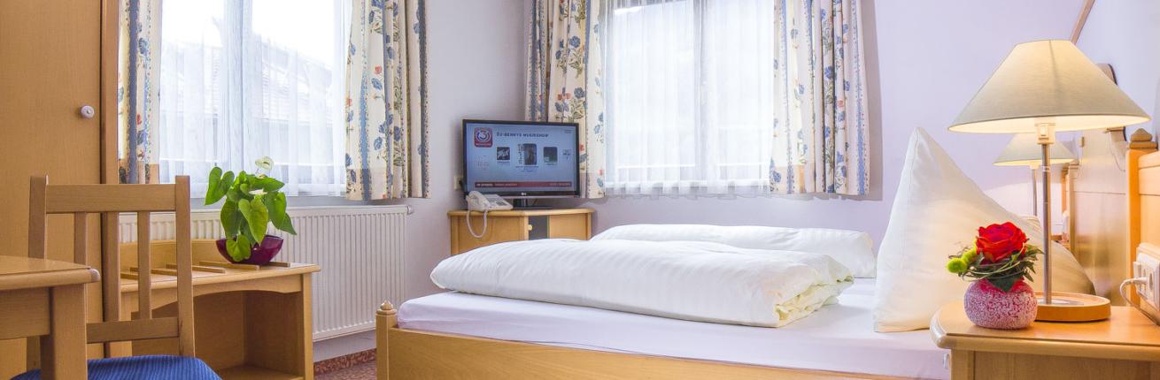 Schlafzimmer Apartment Typ A im Hotel Schladmingerhof