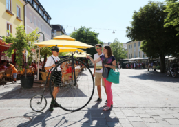 Shopping in Schladming am Hauptplatz
