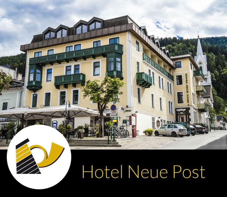 Steiner Hotels Schladming-Hotel Neue Post Außenansicht