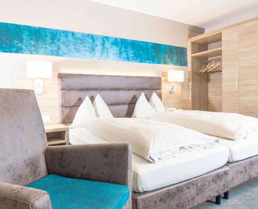 neu eingerichtete Zimmer im Hotel Neue Post Schladming